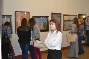Открытие выставки Академии С. Андрияки
