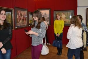 Открытие выставки С. Андрияки